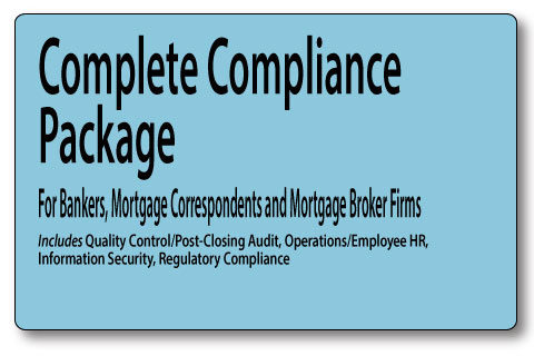 MortgageManuals complete compliance package gives you everything you need to stay in compliance